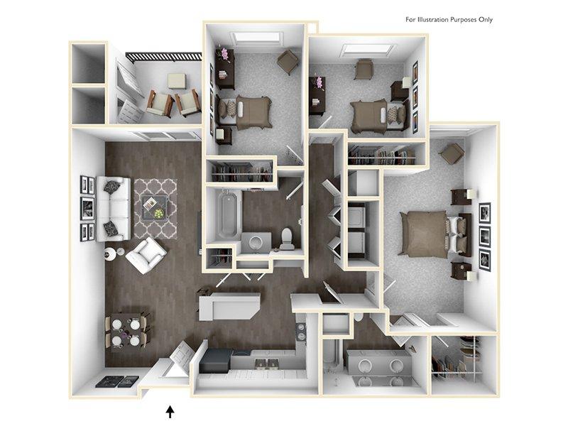 3x2 apartment available today at Sereno in Chula Vista