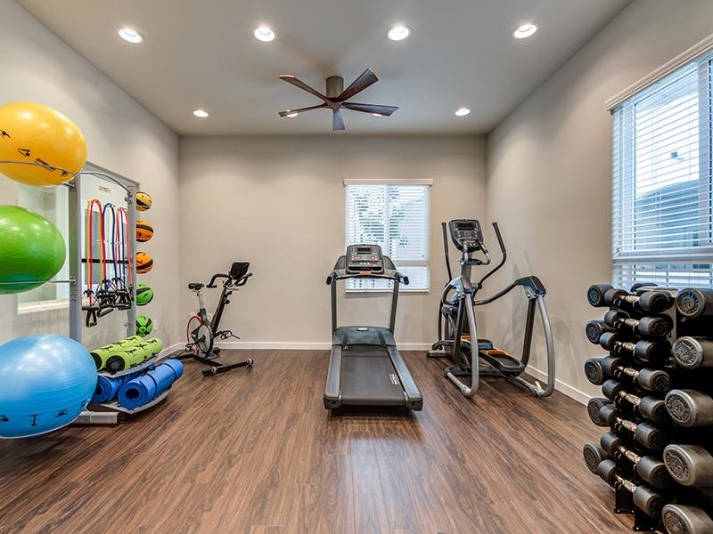 Gym | Sereno Apartments