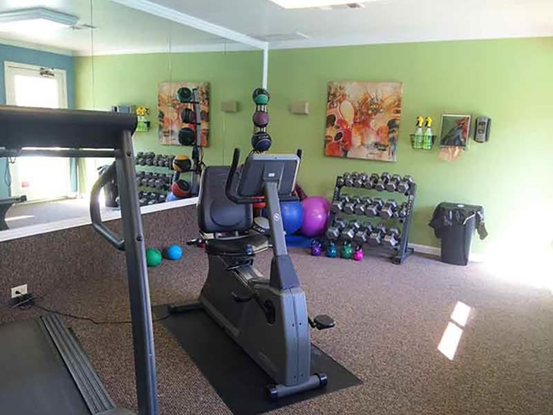 Fitness Center | Chardonnay Ridge