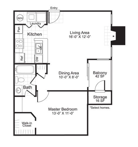 Latitudes Apartments Floor Plan A2