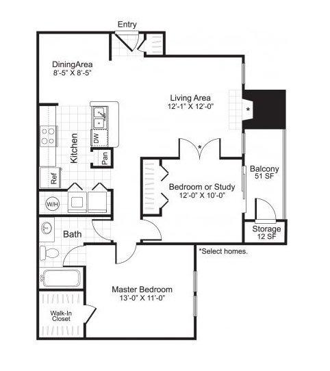 Latitudes Apartments Floor Plan A3