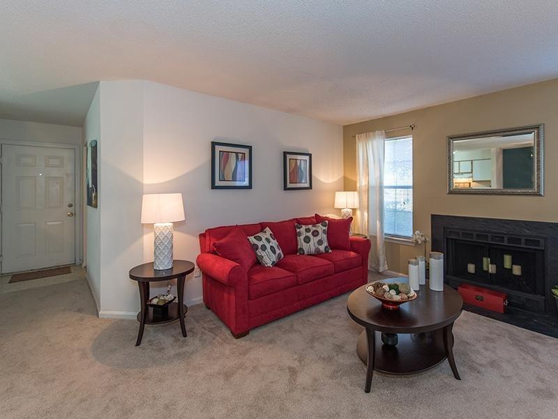 Living Room | Apartments in Virginia Beach