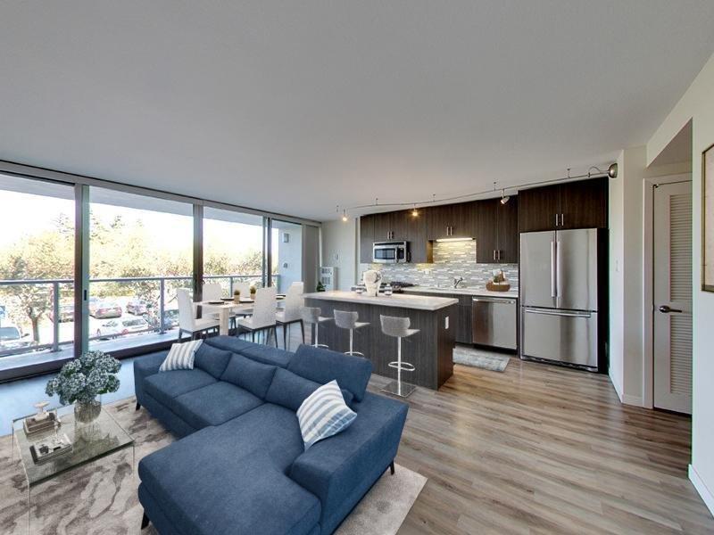 Living Room | Panomar Apartments in Alameda, CA