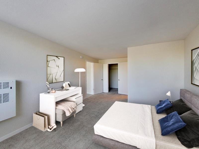 Bedroom |  Panomar Alameda Apartments