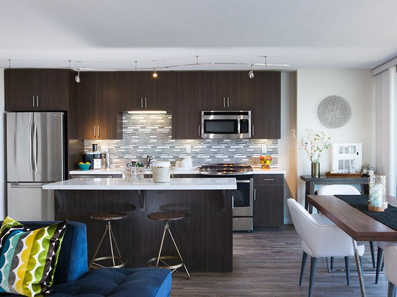 Kitchen | Panomar Apartments in Alameda, CA