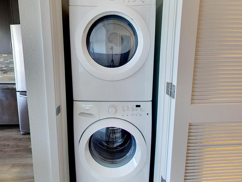 Washer & Dryer | Panomar Apartments in Alameda, CA