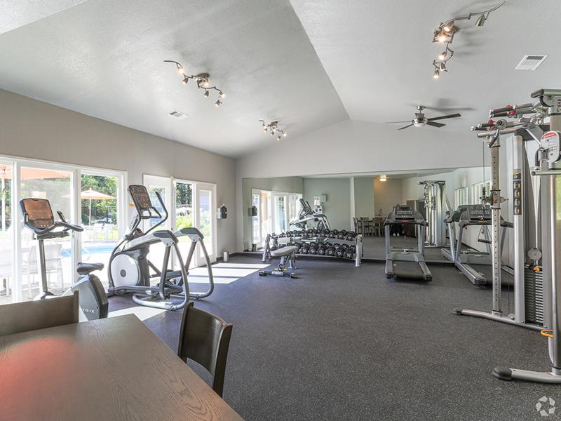Fitness Center | Spring Club Apartments