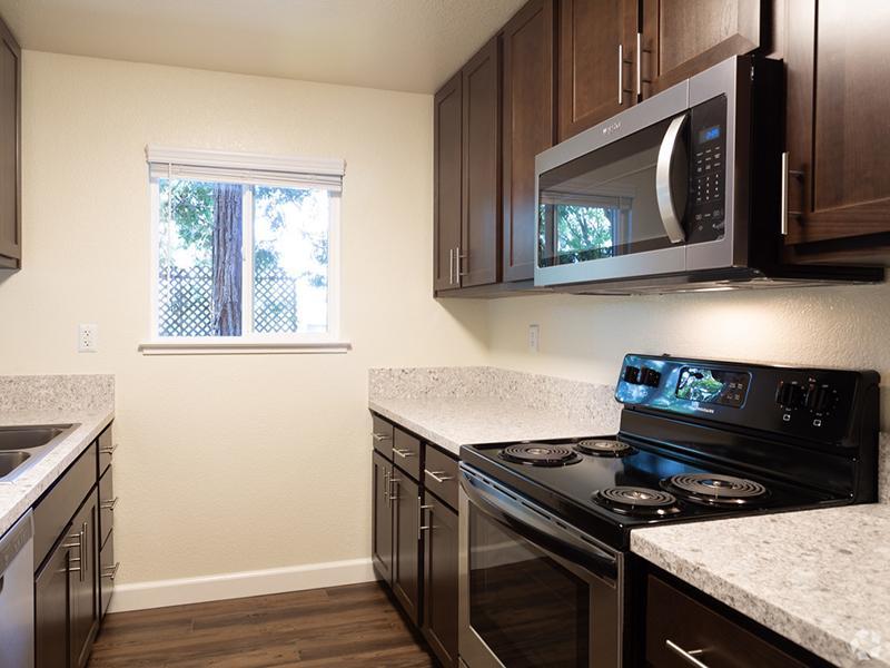 Kitchen | Spring Club Apartments | 1x1