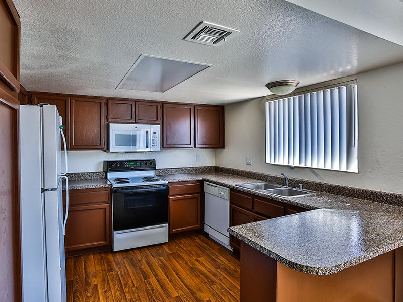 Granite Counters | El Parque Villas in Las Vegas