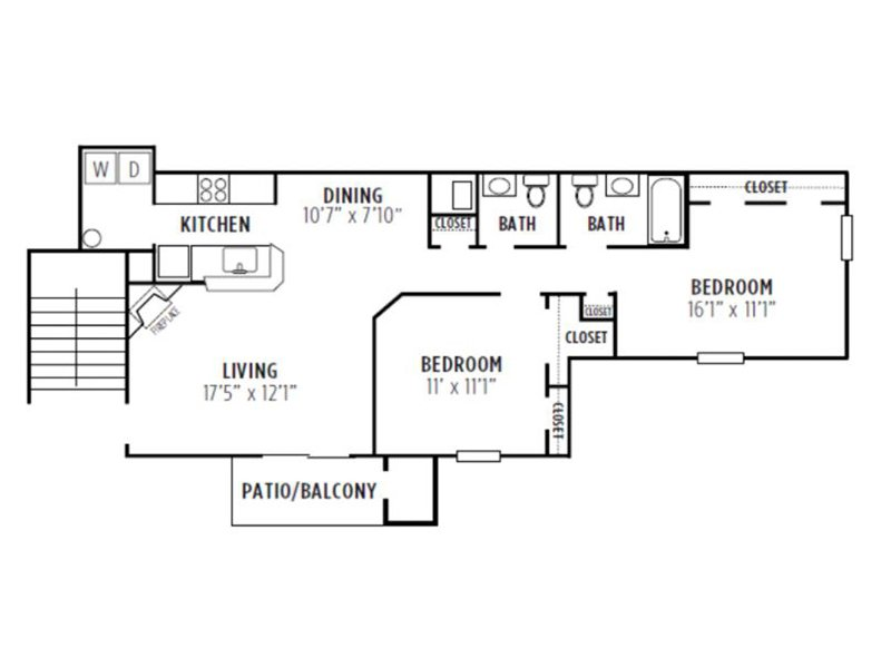 Kensington Crossing Apartments Floor Plan Elm