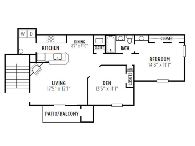 Kensington Crossing Apartments Floor Plan Magnolia