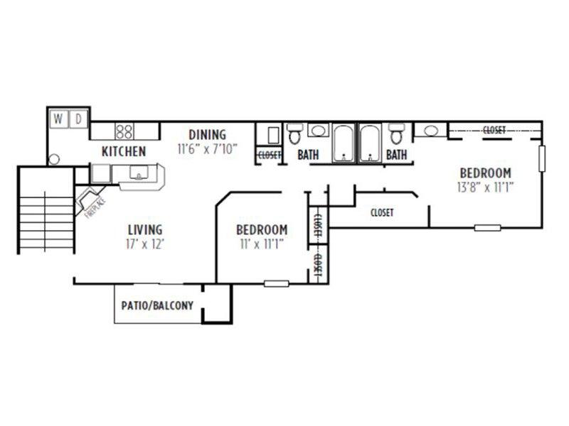 Kensington Crossing Apartments Floor Plan Maple