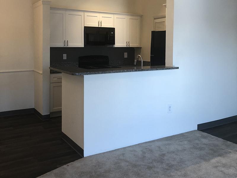 Living Room & Kitchen | Kensington Crossing