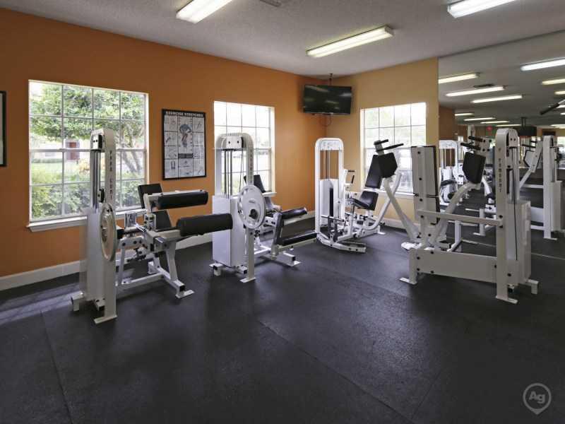 Fitness Center | Lake Tivoli Apartments