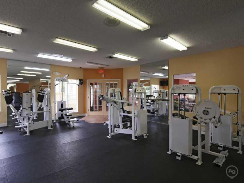 Gym | Lake Tivoli Apartments
