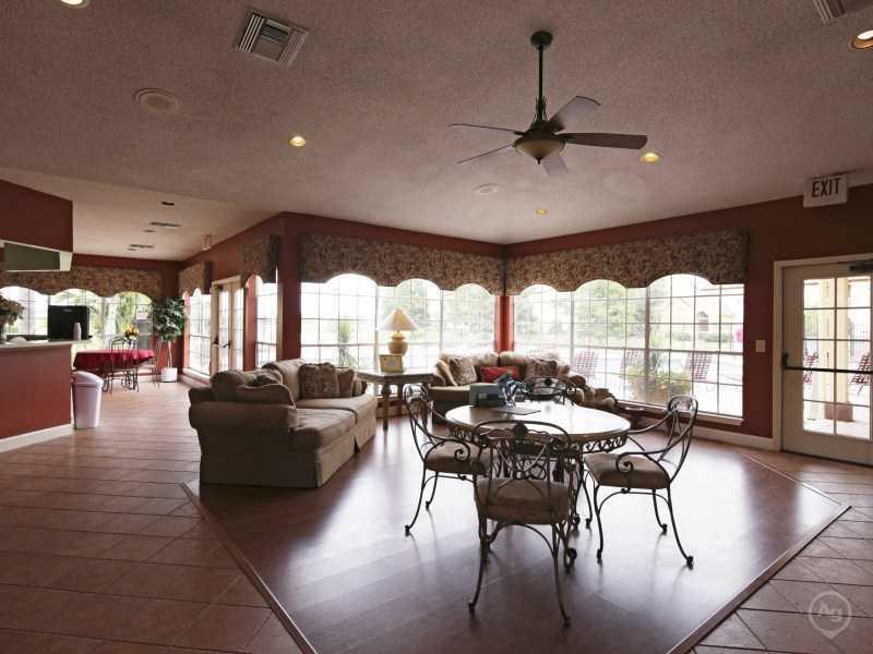 Club House Interior | Lake Tivoli Apartments