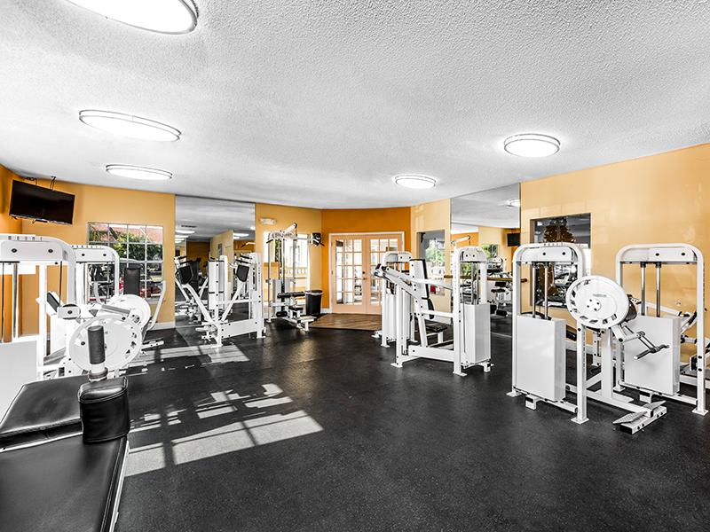 Fitness Center   Lake Tivoli Apartments