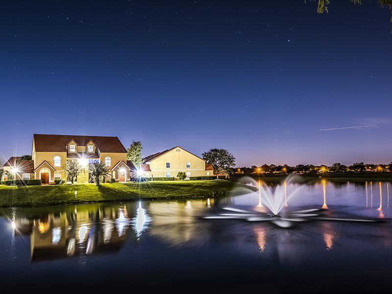 Pond | Lake Tivoli Apartments