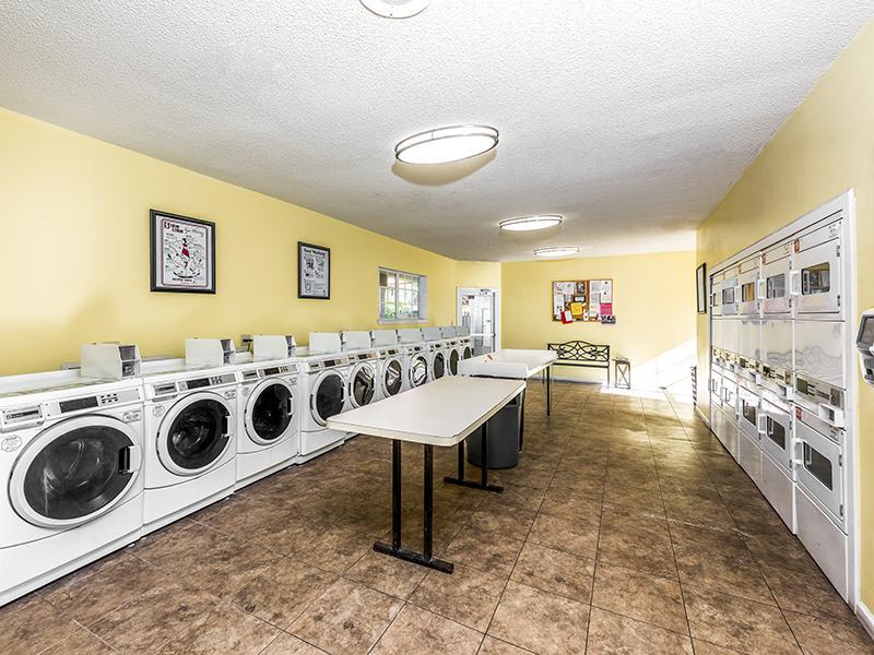 Laundry Facility | Lake Tivoli Apartments