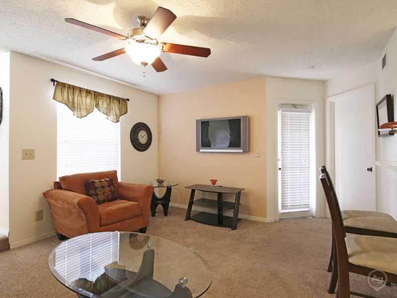 Front Room | Lake Tivoli Apartments