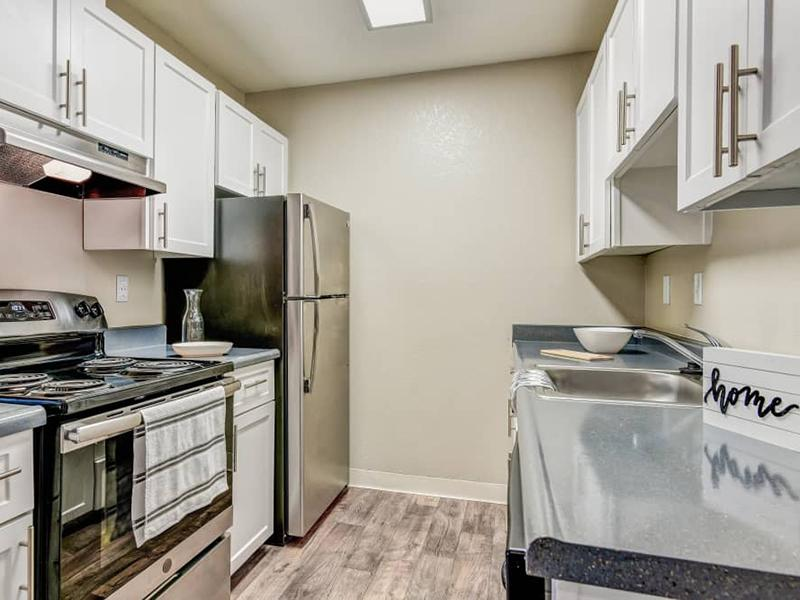 Renovated Kitchen | Summerwood Hayward Apartments