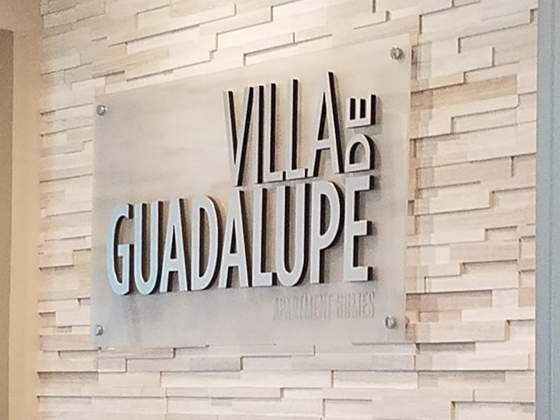 Sign   Villa de Guadalupe