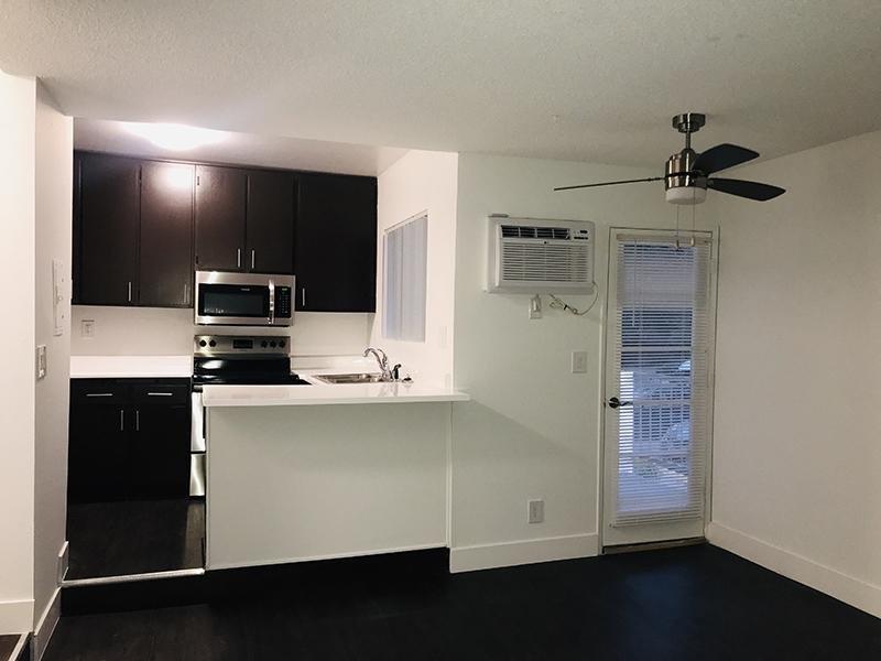 Living Room & Kitchen | Studio City Hills