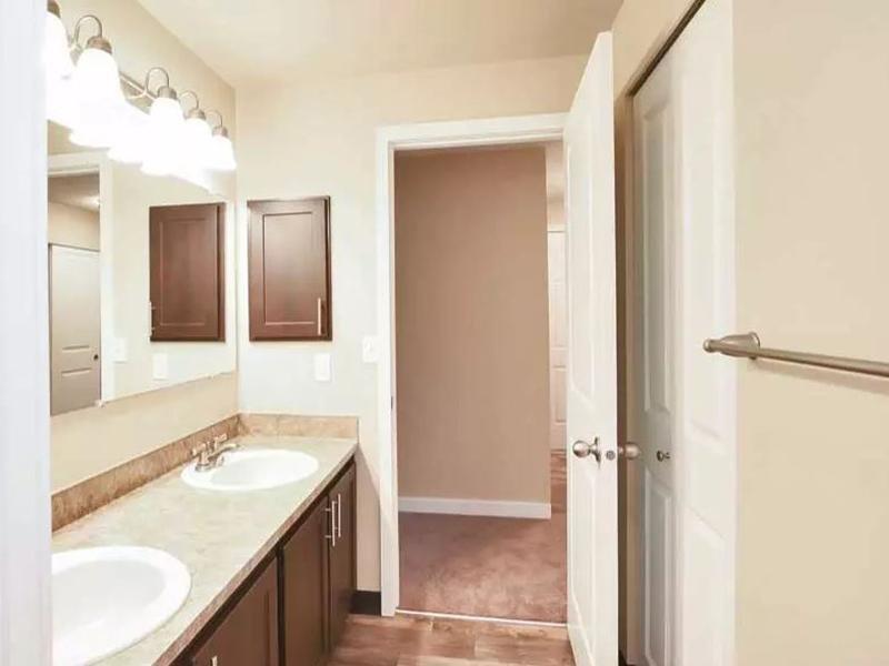 Bathroom | Pointe East Apartments