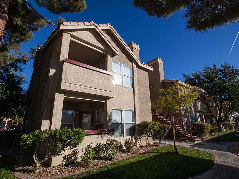 Building Exterior   Gloria Park Villas in Las Vegas, NV