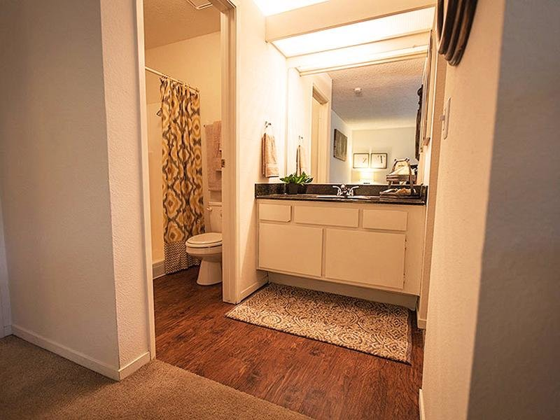 Bathroom | Rosemont Park Apartments in Sacramento CA