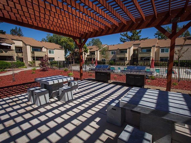 Patio | Rosemont Park Apartments in Sacramento CA