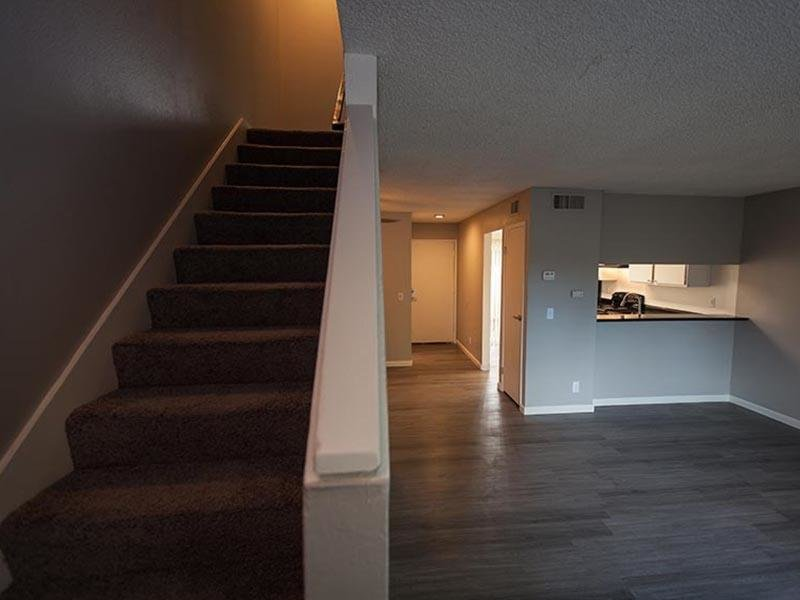 Living Room | Rosemont Park Sacramento Apartments For Rent