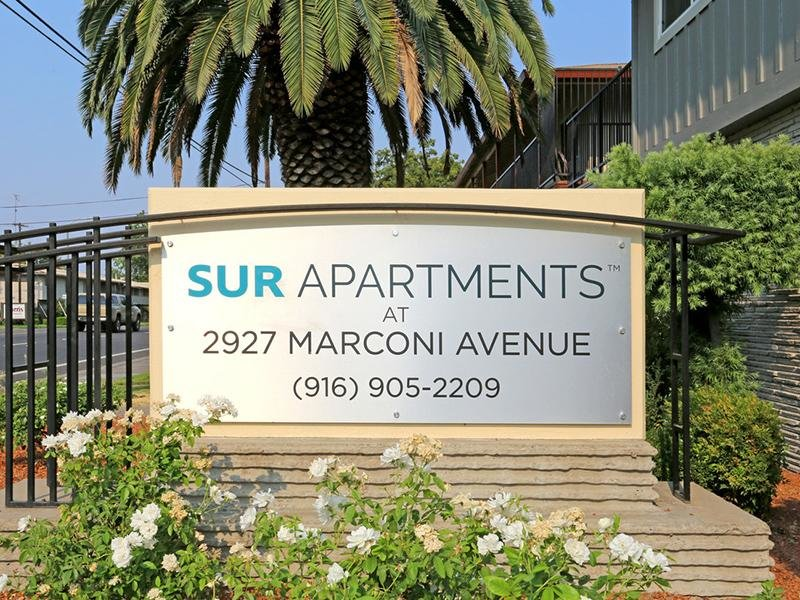 Sign | Sur Apartments