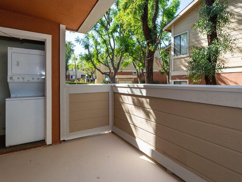 Balcony | Meadowood Apartments