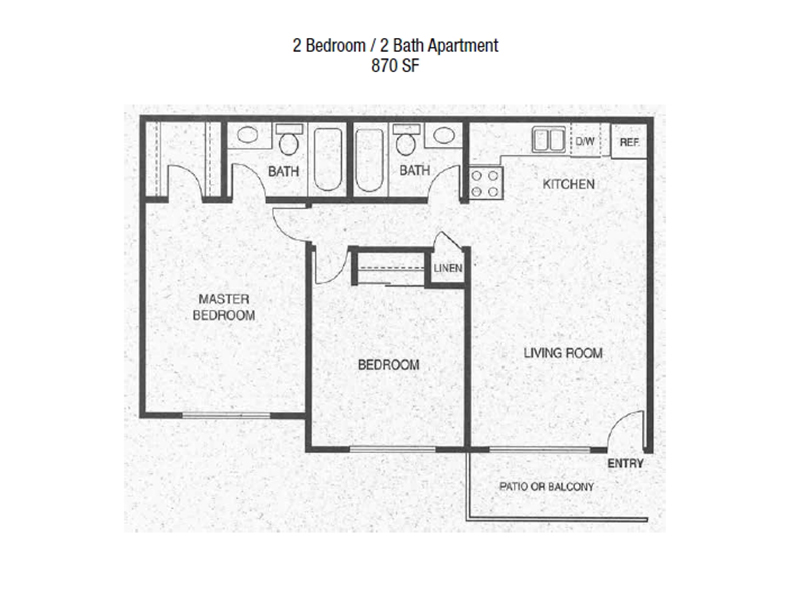 View floor plan image of 2x2_870 apartment available now