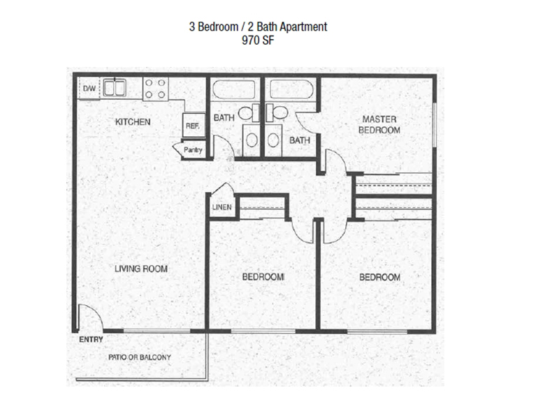 3x2_970 apartment available today at Premier in Lancaster