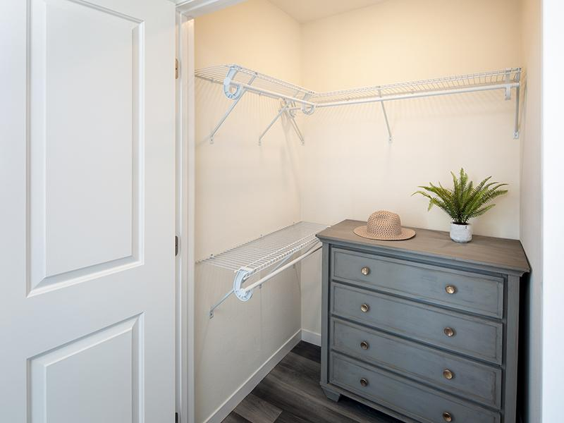 Closet Space | Bay View Apartments