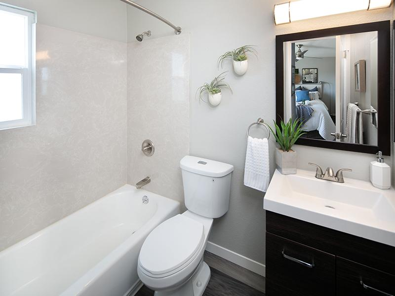 Bathroom | Bay Vista Apartments