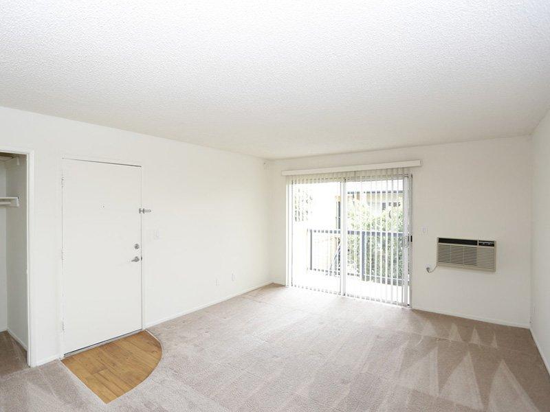 1 Bedroom Living Room | Tribeca Apartments