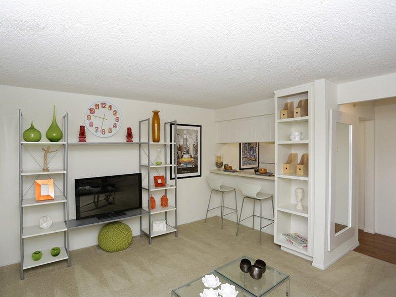 Studio Living Room | Tribeca Apartments