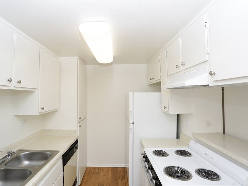 1 Bedroom Kitchen | Tribeca Apartments