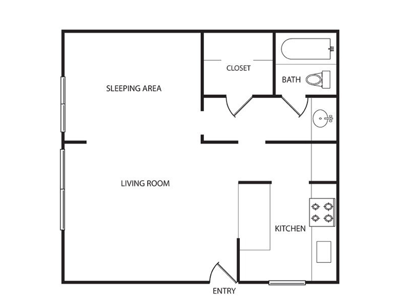 Floor Plan Pricing For Lakeside Apartments In San Leandro