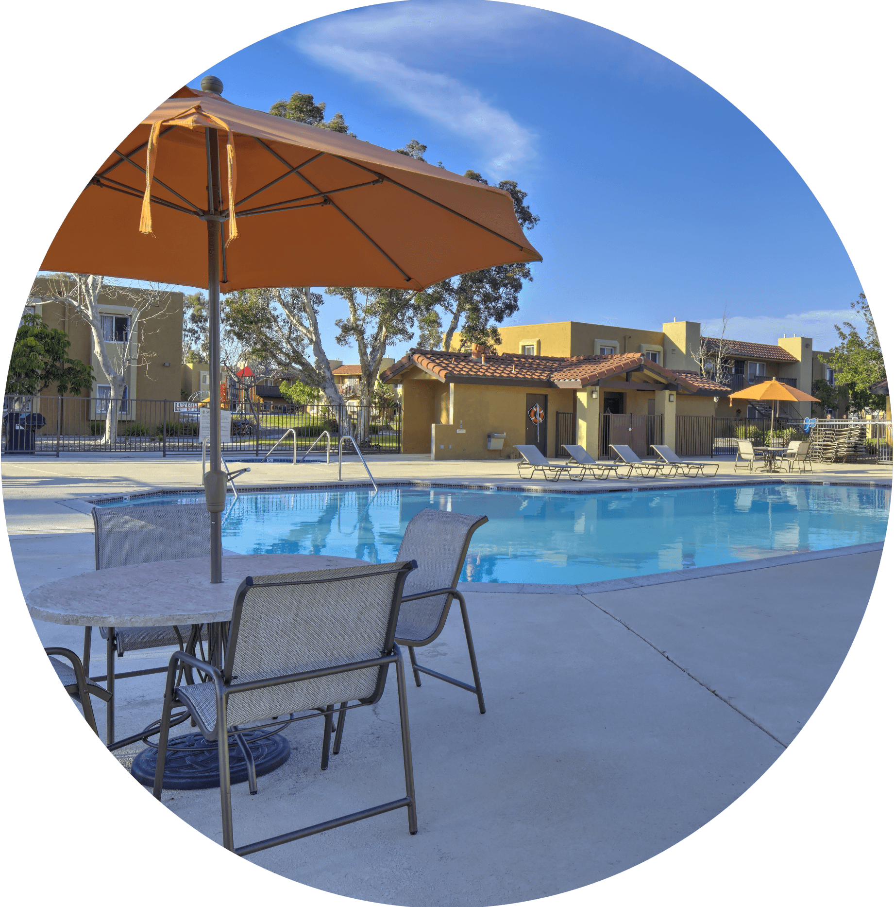 Amenities For Rio Vista Apartments, San Diego