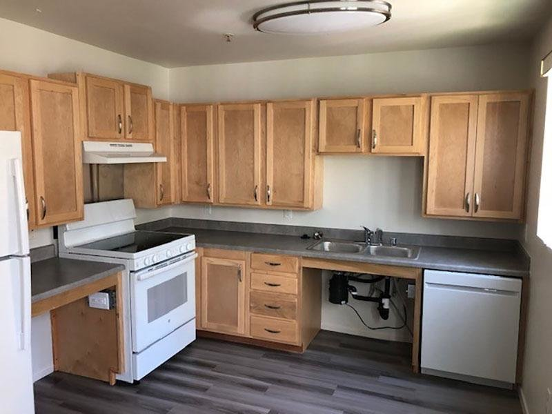 Kitchen | Sunrose Apartments
