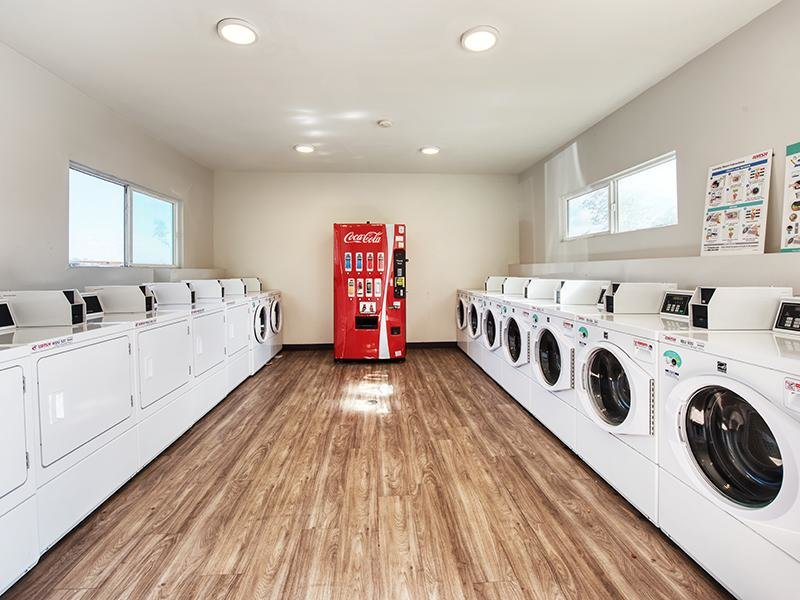 Laundry Facility | Sunrose Apartments