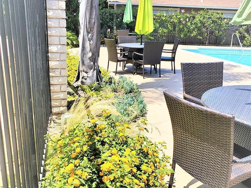 Poolside | Anaheim Cottages