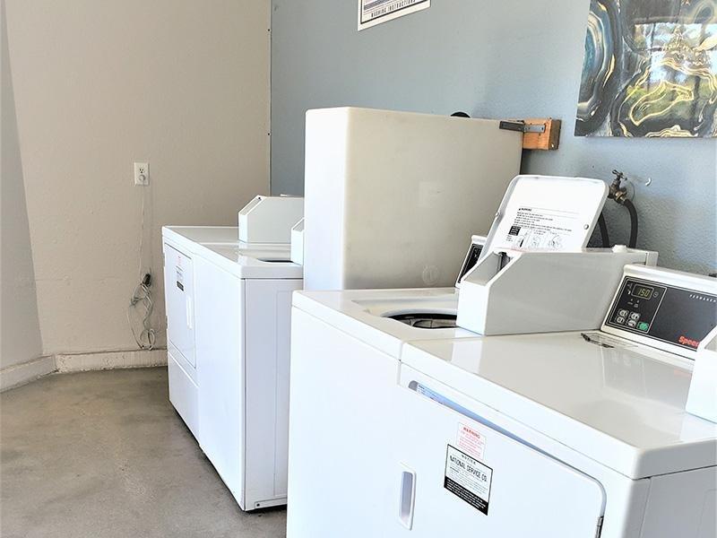 Laundry Facility | Anaheim Cottages