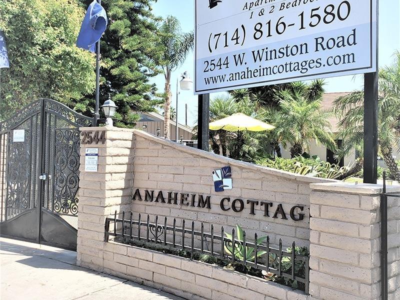 Property Entrance | Anaheim Cottages in Anaheim CA