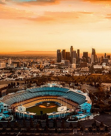 Los Angeles Dodgers nearby Hollywood Backlot Homes Apartment Community
