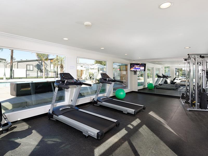 Gym | Hollywood Backlot Bungalows